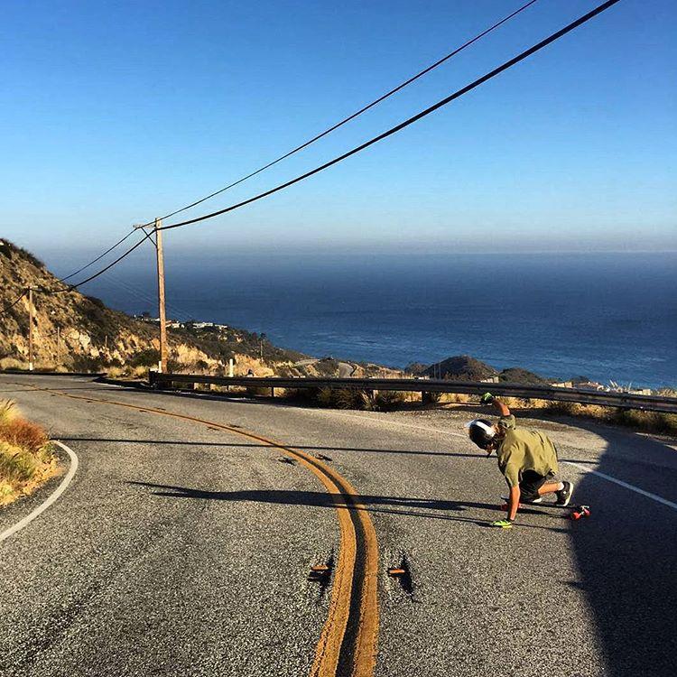#longboard #downhill #decker #malibu #USA