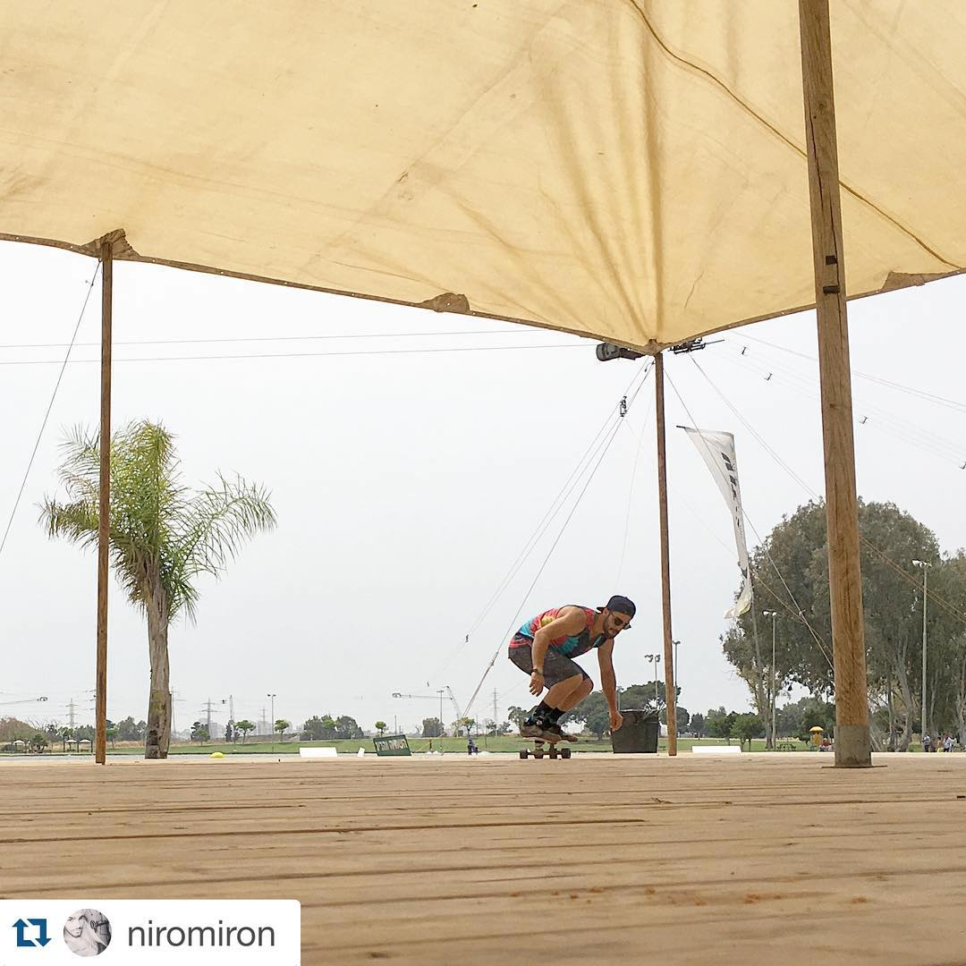 #Repost @niromiron with @repostapp. ・・・ Gettin warm before wakeboarding