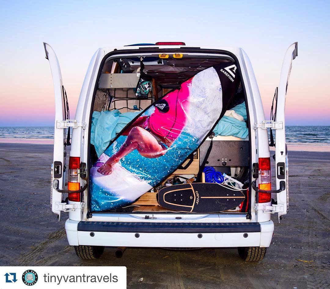 #Repost @tinyvantravels with @repostapp. ・・・ Locked, loaded, and ready to roll... Soon. Very happy to be transitioning from the work phase to the route planning phase!
