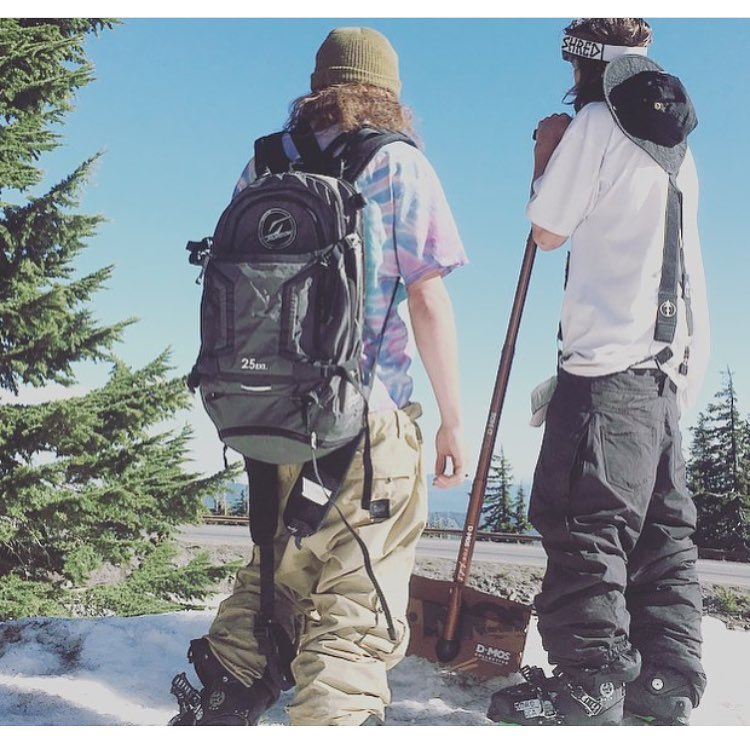 @kilbride95 and @lupe860 searching for what's next at #mthood