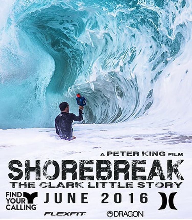 "The movie of the summer ""Shorebreak"" is coming out next month. @dragonalliance is stoked to be partnering on this amazing story of our ambassador of water magic @clarklittle. Be sure to look for the premiere dates and also check out our Clark Little..."