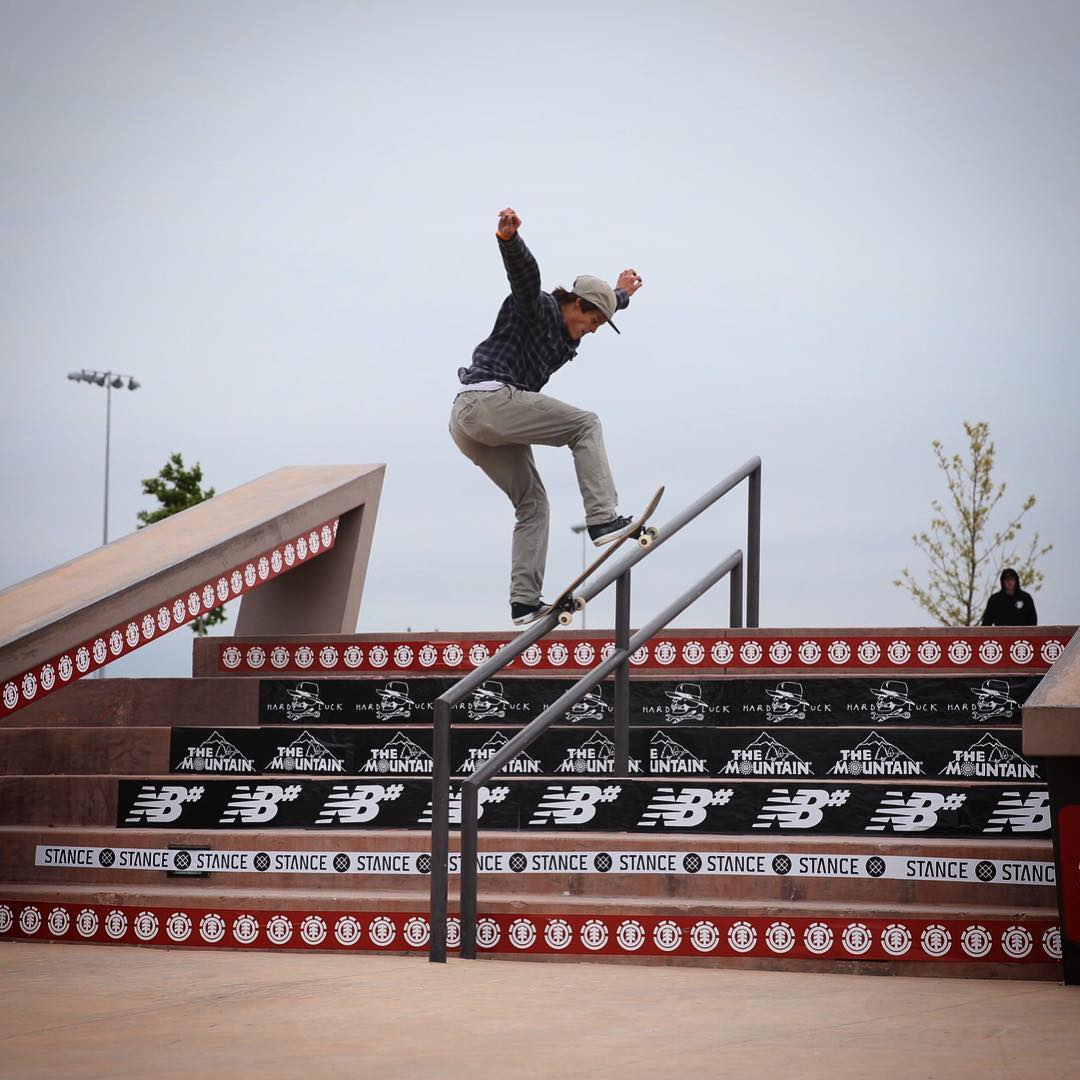 Congratulations to Heroki Asher (@heroasher) on winning today's #elementmakeitcount in Erie, Colorado! He snagged himself a spot in the regional finals at @elementskatecamp and a shot at an all expenses paid skate trip to Barcelona!