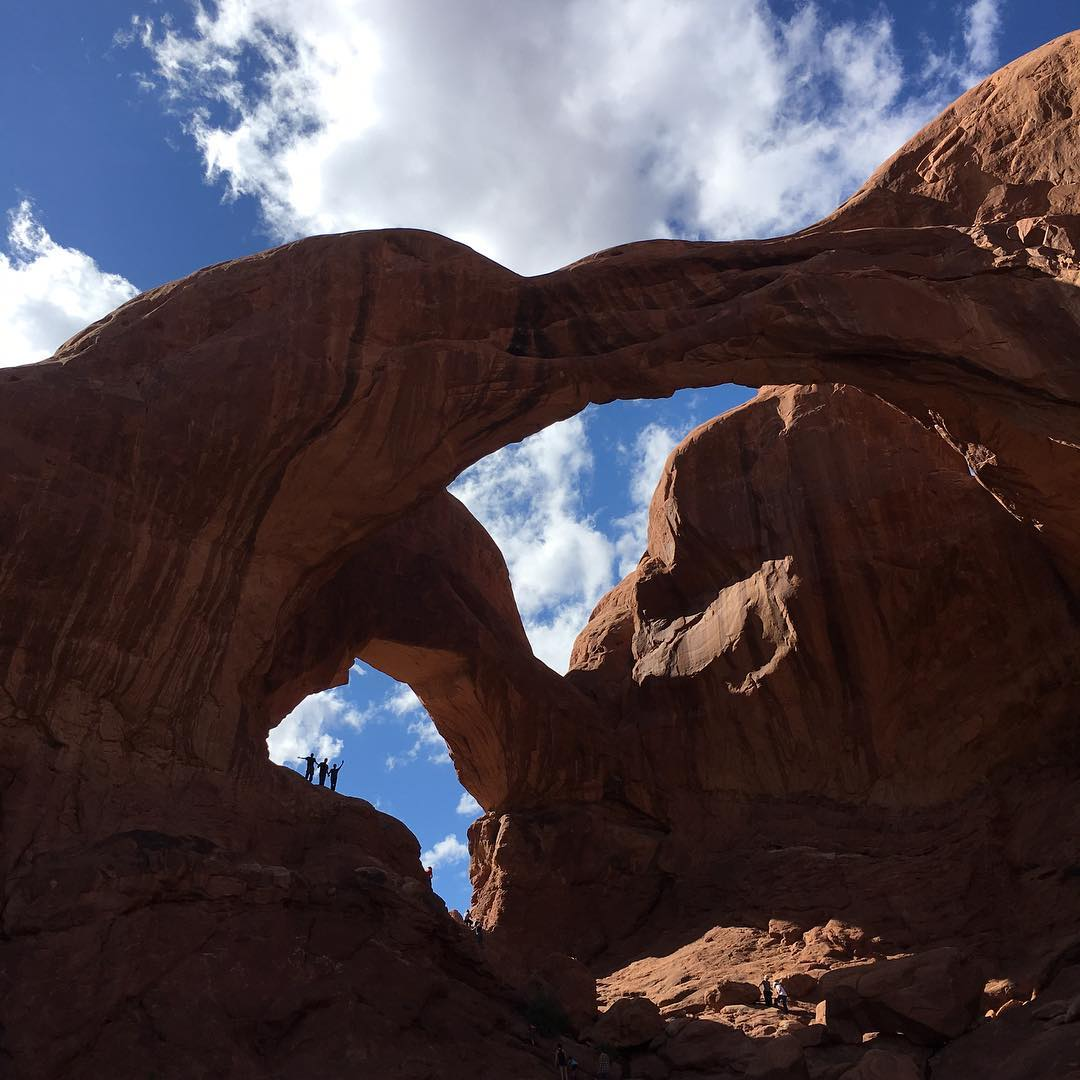 en route to the @elementmakeitcount contest in Denver this weekend the crew made a slight detour to the magical lands of #moab >>>