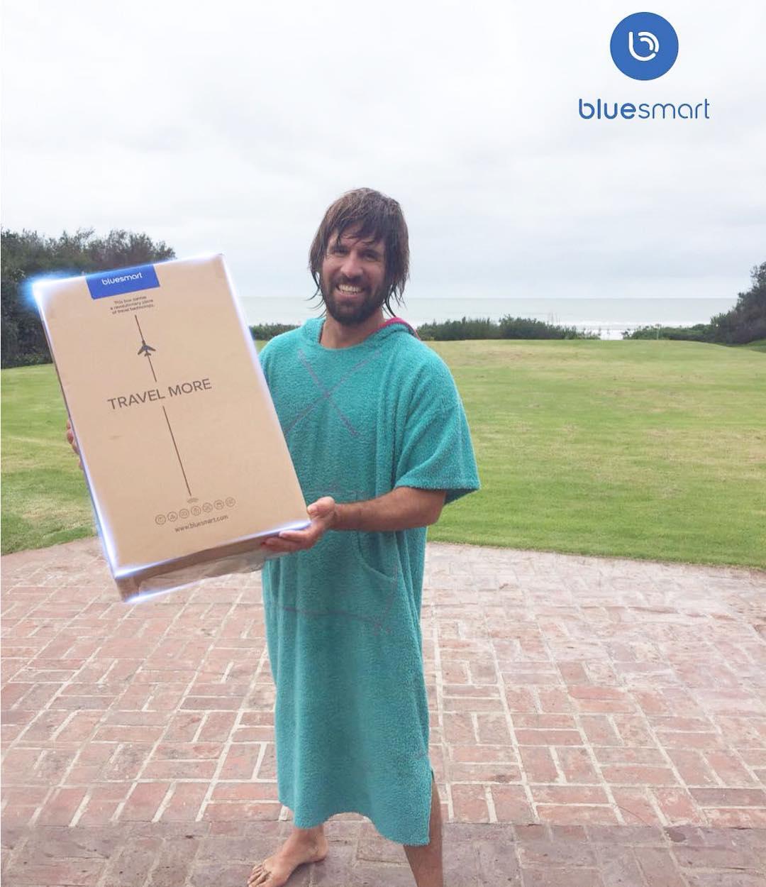 Llego BLUE SMART a Argentina! Nosotros ya tenemos la nuestra!!! Ideal para surftrips ☄