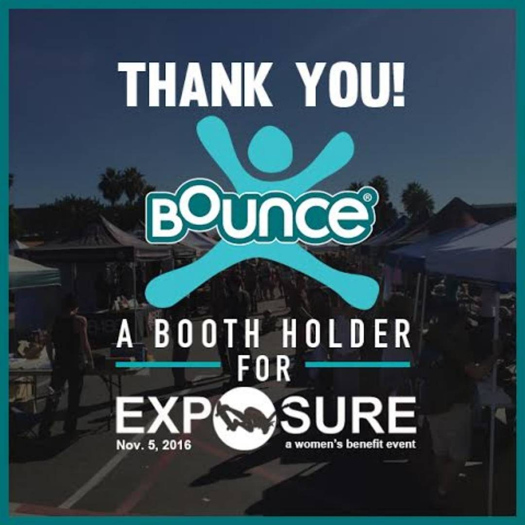 """Eat Good- Feel Good- Do Good,"" we are bouncing off the walls because Bounce Energy Balls will be with us this year at Exposure 2016! ""We create 'clean nutrition' by using high quality ingredients and leaving out nasties...."" -@bounce_usa Can't wait to..."