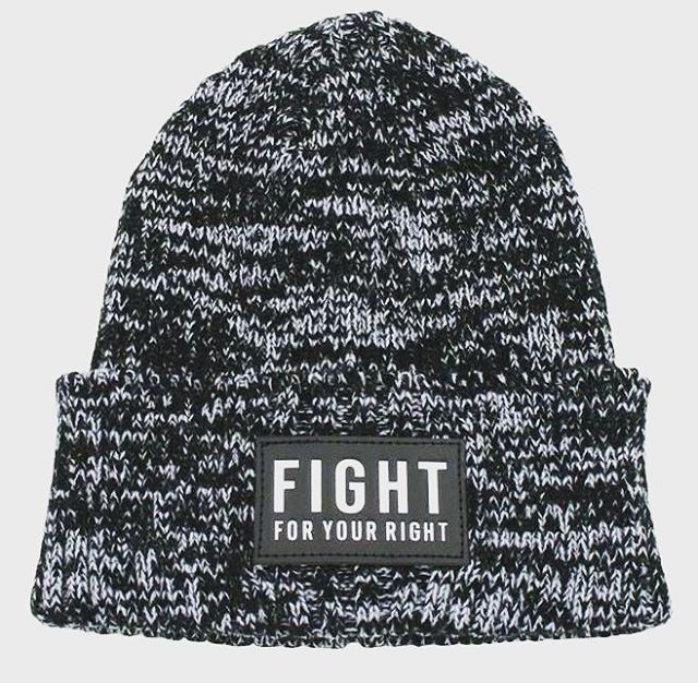Récorda que los mejores beanies del mundo están en @fightforyourrightok ! #actitudfight  http://casafight.com/index.php?route=product/product&path=60&product_id=845