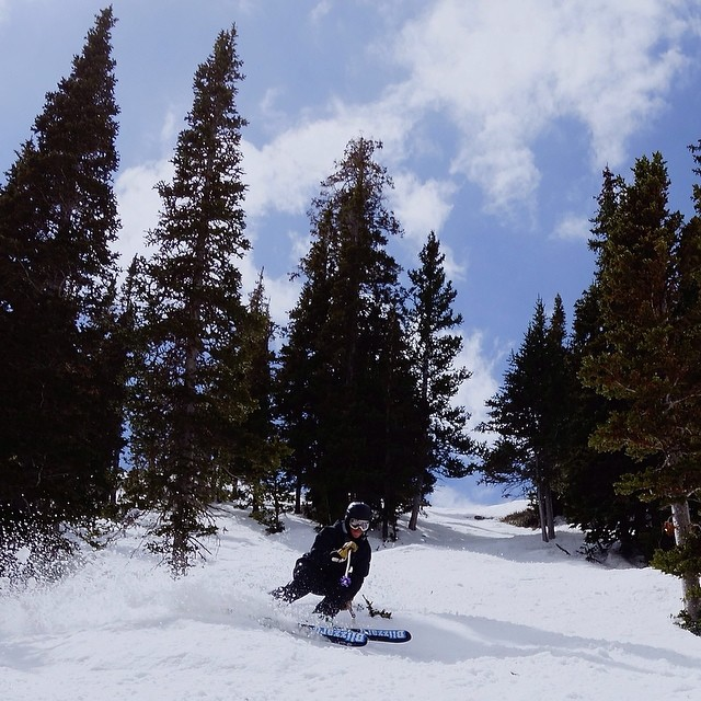 The soul planting was good today at @pcski.  #SoulPoles Brand Development Manager, @mhundhammer, found what he went looking for.  All in good preparation for the hut trip to NE Oregon next week. // #plantyoursoul  @tecnicablizzard #blizzardfreeride PC:...