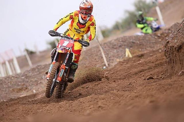 El fin de semana nuestro Rider @joaquinpoli199  estuvo en San Juan en el Campeonato Nacinal de Motocross, donde se llevó el primer puesto en la categoría MX1. Felicitaciones Joaco!  PH: Nico Jimenez