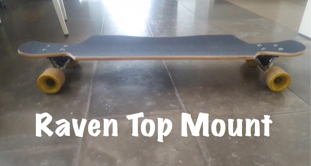 Here is a #bamboo raven #topmount #longboard sent in by a happy customer. #snapchat #skatelife #concretewave #fanluv #longboarding #thankyou #picodtheday