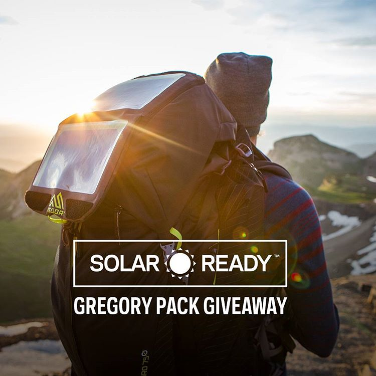 We're proud to announce our Solar Ready™ Collaboration with @gregorypacks on their award winning Baltoro Pack! To celebrate we're giving one away and we've also included a @suunto Traverse GPS Watch and some other great prizes to help you on your next...