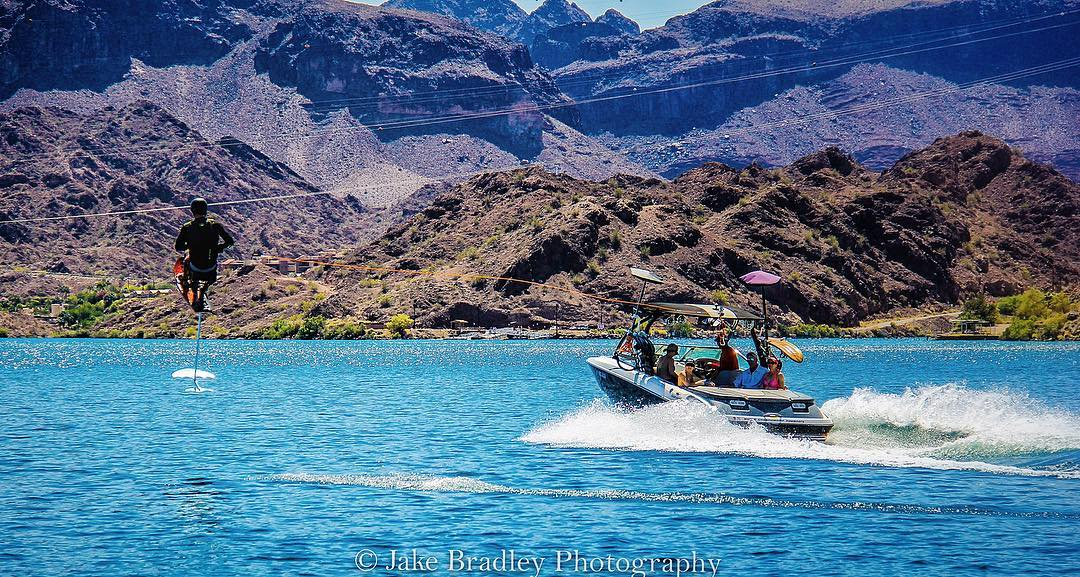 From #SpinalCordInjury to flying behind the boat again, my heart is more than full... #TBT to epic times on @centurionboats, with #fun people, a few weeks back on #LakeHavasu!  I am still ear-to-ear with happiness from the smiles, riding and...