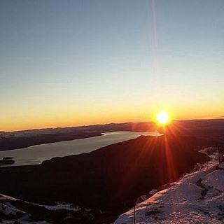 Cuando el sol aparece de esta manera, sabemos que nace un gran dia...