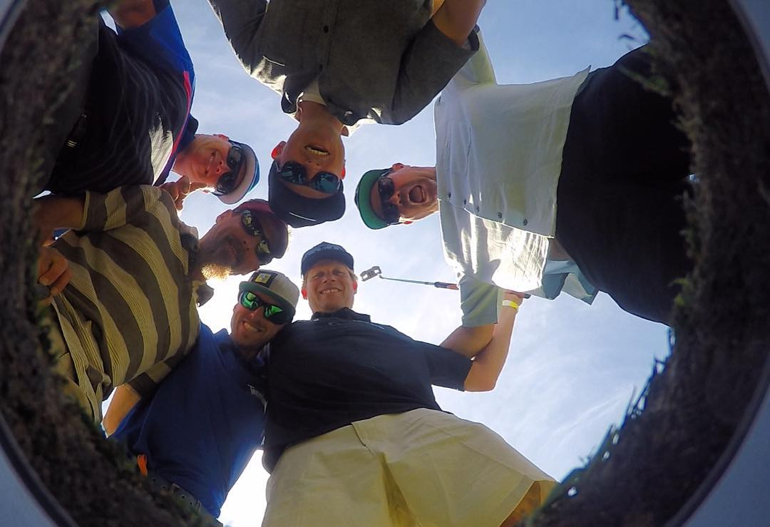 We love our @gopro!! High Five #gopro #goprogolf ⛳️