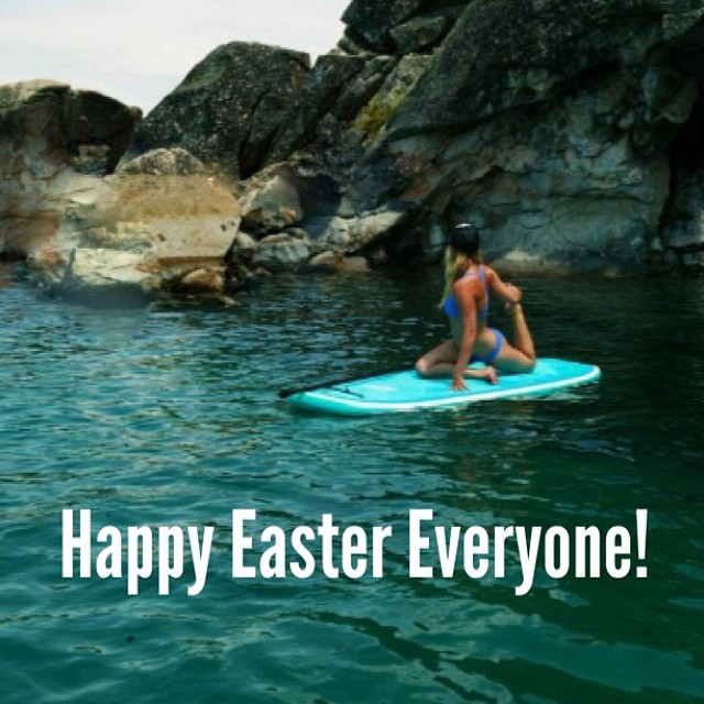 Hope everyone is having a peaceful day! Happy Easter! #localhoneydesigns #california #happyeaster #supyoga #spring #air #getoutside #smelltheroses #peace #love