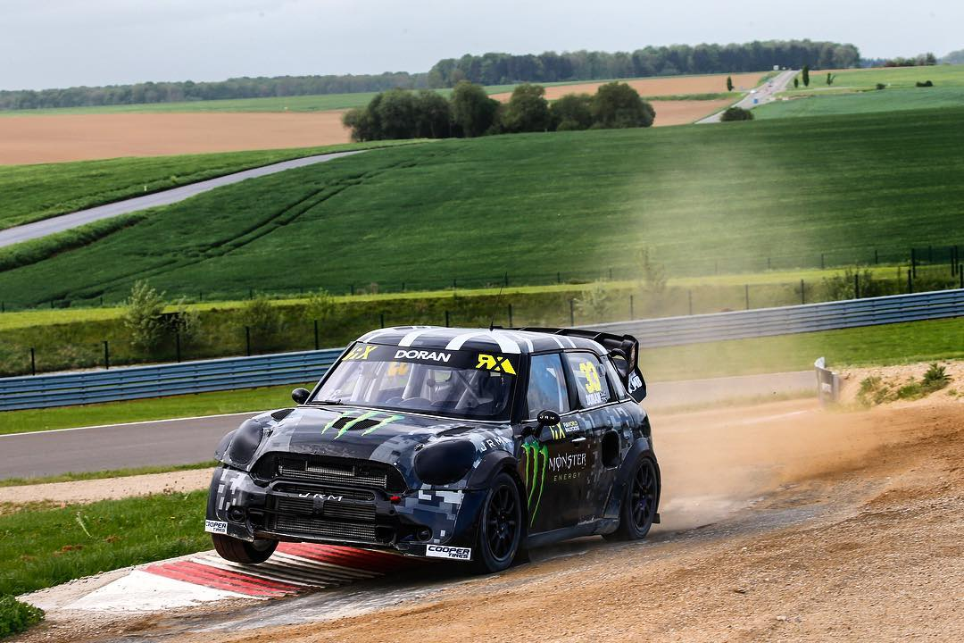 Struggled really bad at Rnd3 in Belgium this weekend, the track was fast and had tons of grip so the Mini just didn't have enough.  We got into some sticky situations because of our power disadvantage leaving us limping around or not able to carry on....
