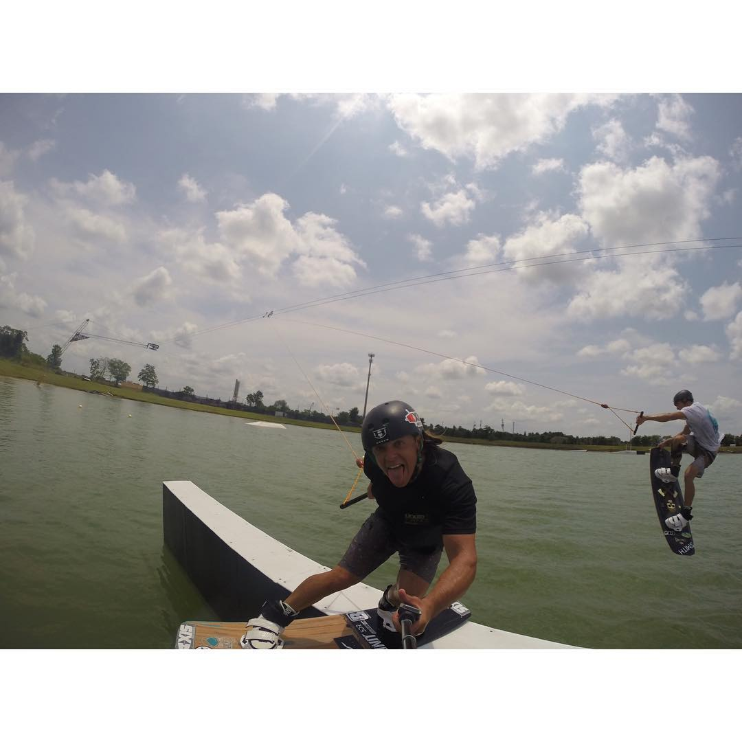 Free For All'n ALL DAY at @wakenationhouston!  @gopro #GoPro