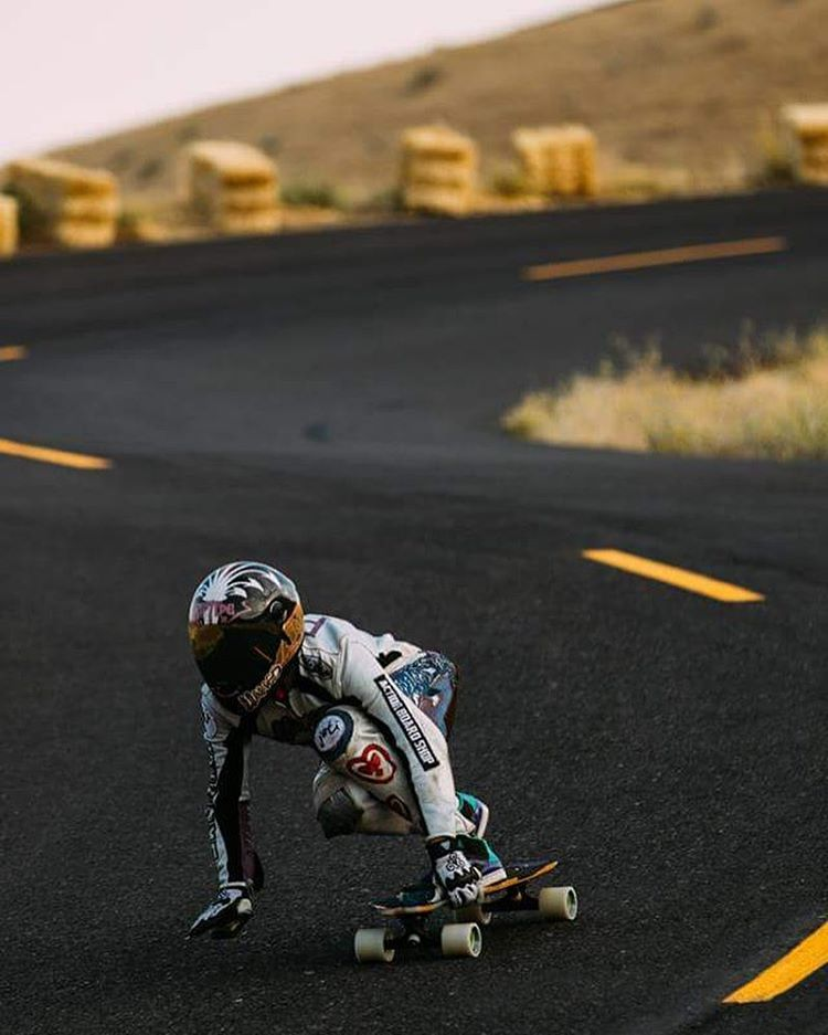 LGC US Ambassador @possala riding Mary's curves. Beautiful shot!