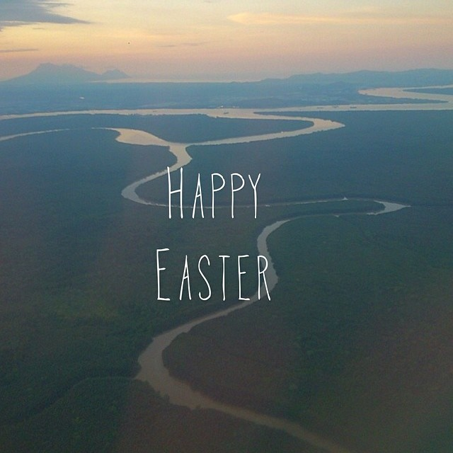 Happy Easter. #cuipo #saverainforest