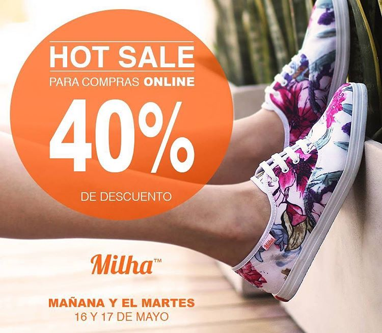 HOT SALE! Compra con un descuento increíble: www.milha.com.ar #hotsale #milha @milha_oficial