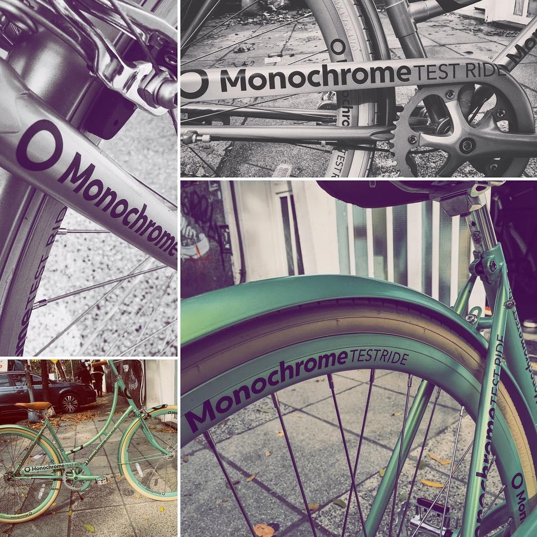 Monochrome test ride!  Veni a probar una Monochrome!!!! #monochromebikes #ilovemymonochrome #monochromebikeshop #monochromesaddles #bike