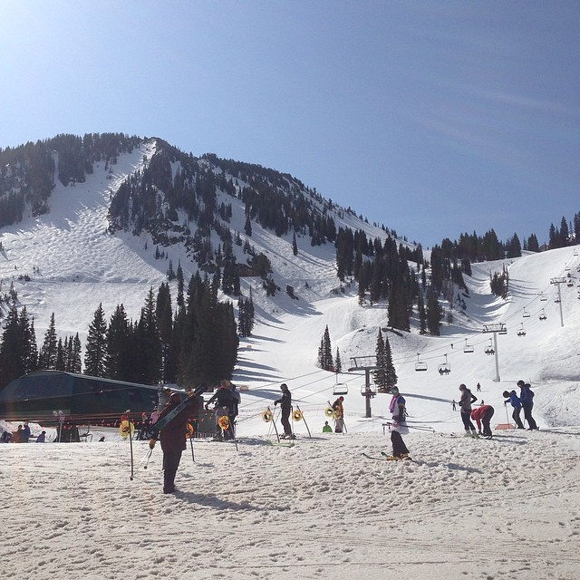 Happy Easter/4-20/closing weekend! Are you spending the day at @altaskiarea? Send it on the most awesome feature ever created at Frank's, or just get plain weird up on High Boy. Or just have a great day outside wherever you are!