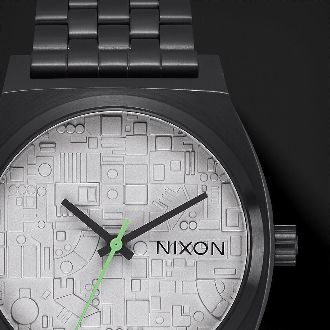 Fully operational. The #TimeTeller takes on Death Star proportions. #Nixon #StarWars