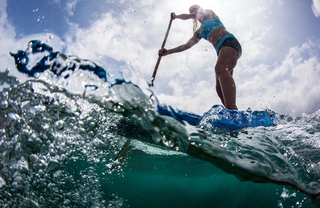 R O U G H N T O U G H  @swellliving in #heavywater #bamboopaddle #oceanpaddler #lightweightbutnotalightweight #livethetikilife #starboardsup #odina #teambioastin #konaboys #standupjournal #supthemag #supconnect #rareform #billboardstobags...