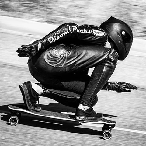 #paristruckco team rider @ari_shark tearing through the turns at the @catalinaislandclassic last weekend. Everyone had a blast enjoying that #islandlife. #paristrucks  Regram from @skateslate