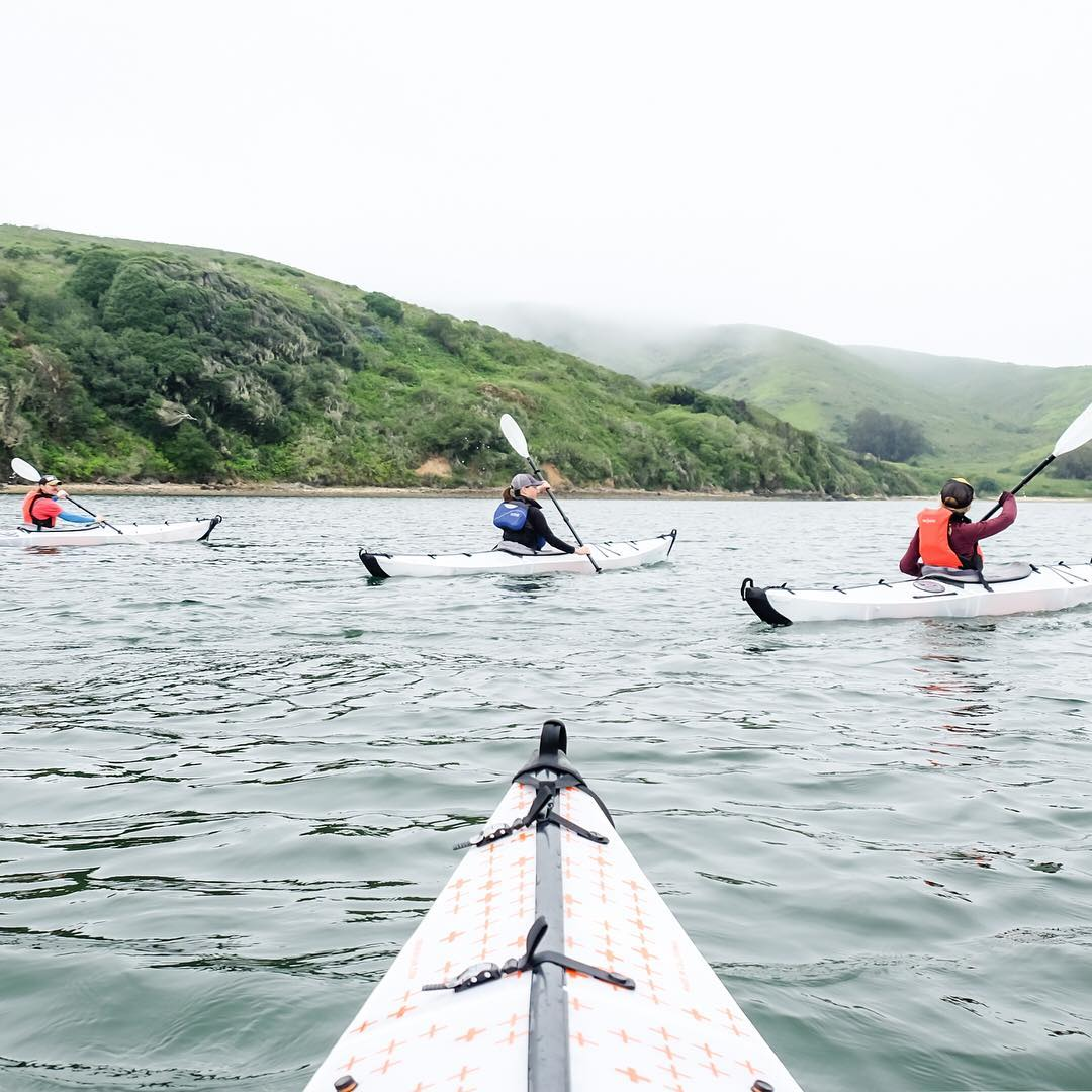 Looking for a new perspective on some familiar coastline? The Peak Design team recommends kayaking it. #findyourpeak