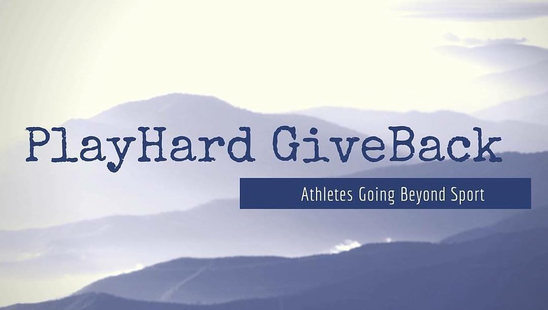 What athletes do you know who are going beyond sport?! Tag them here! #playhardgiveback #beyondsport