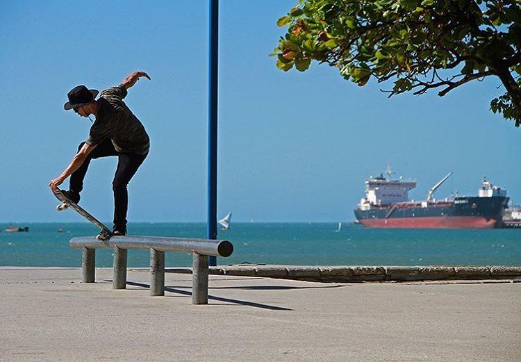 @samuel_jimmy - Crail Fs Bluntslide na Beira Mar de Fortaleza - CE