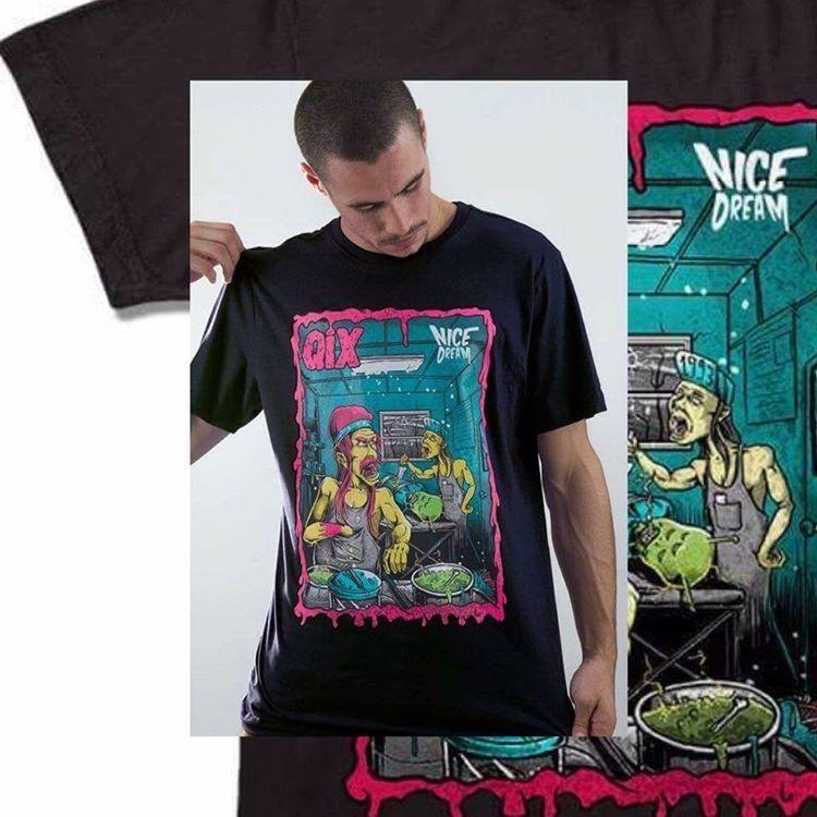 Camiseta Qix Nice Dream ➡ Garanta já a sua em: QIX.COM.BR ou nas lojas revendedoras em todo o país #Qix #StreetStyle #Skate #Lifestyle