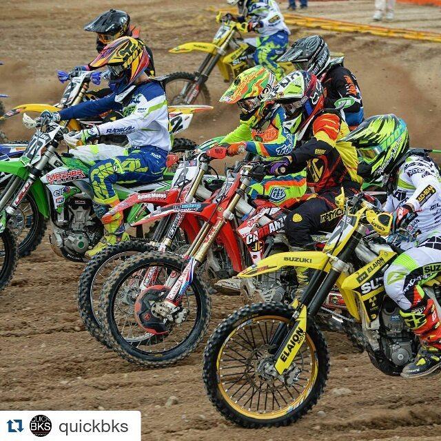 #Repost @quickbks with @repostapp ・・・ #mx1 #mxnacional #braap #animales #motocross #holeshot #radikalracing #quickbks