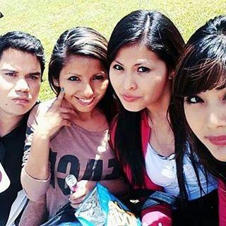 Con las chicas!!!