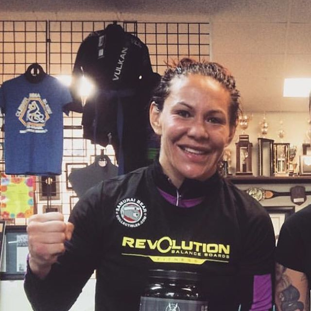 This Saturday @criscyborg makes her UFC debut in #ufc198 !! She trains with @revbalance_fitness