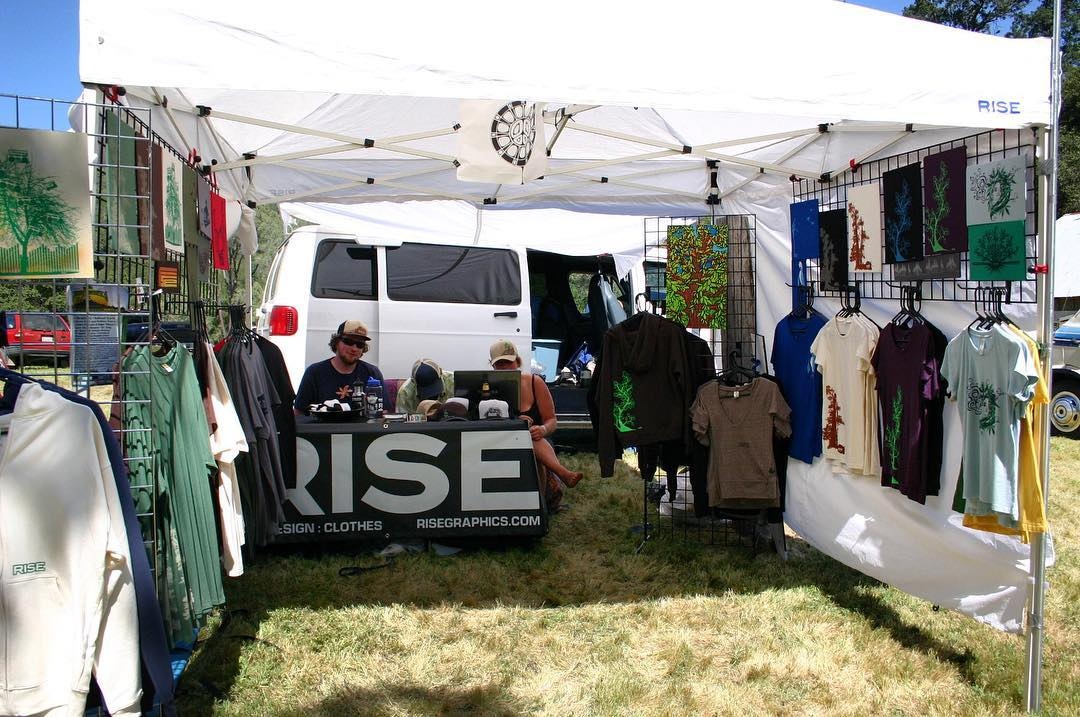 Throwback to 2010 to one of the first festivals we worked. This one is from Angels Camp, CA. #risedesigns #risedesignstahoe #further #inspiredbynature #drivenbydesign