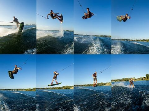 Here's a Sunday sequence of @massipiffa 's #zero for his @wakeboardingmag pro spot light. #ronix2016 #oneloveinwake #fortifiedwithlakevibes #takefkight #thepizzaboyhimself