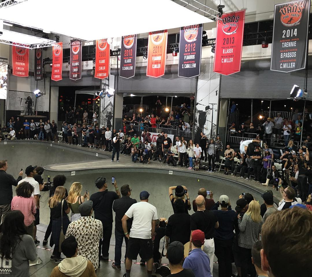 Today was so fun to check out the @vans contest at their facility in #Orange . We met@#Pedro last night at the #skateboardinghalloffameawards and he said he was going to buy a house in the #US if he won today- he did and this is a shot from his winning...