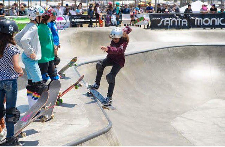 Denver Local & girl destroyer Spencer ( @spencerbreaux ) has been killin it in Cali with her smooth laid back style winning the Venice Beach park jam this month, being invited to skate demos with legendary pool pros and now is headed out to the @vans...