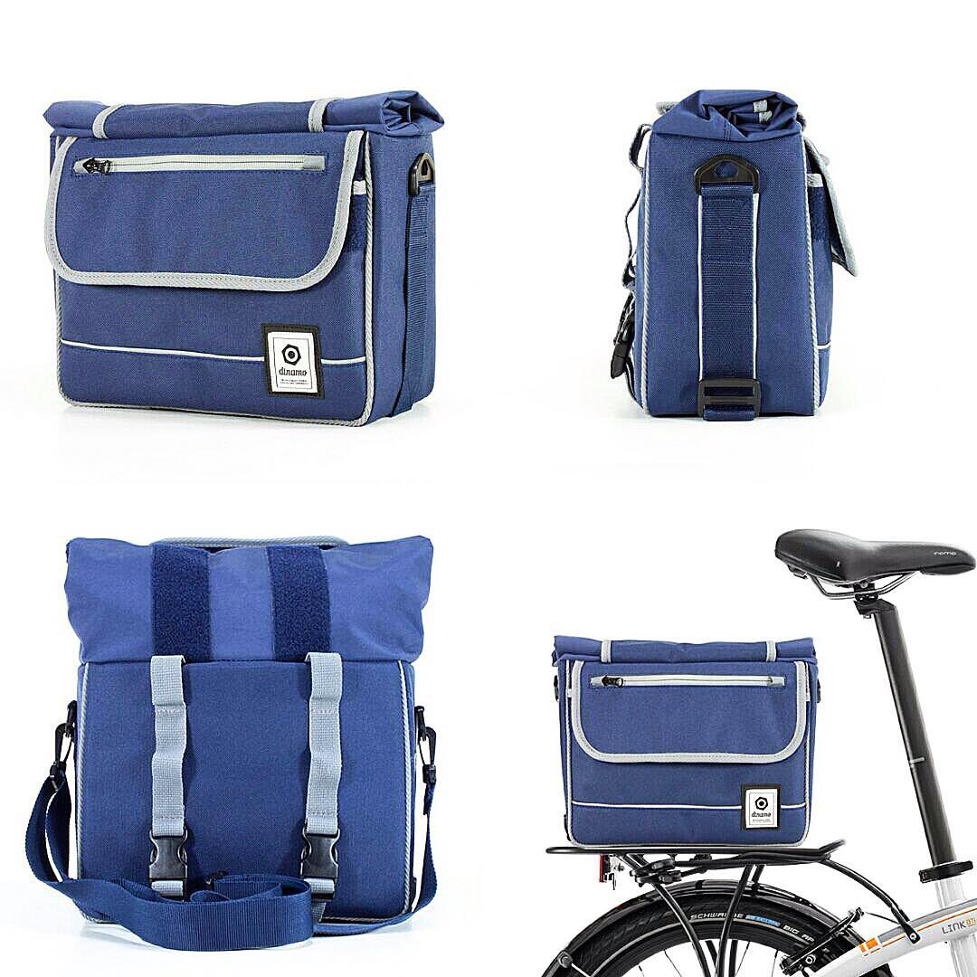 NUEVA LÍNEA AVENIDAS - modelo LIBERTADOR. Un bolso para vos y una alforja para tu bici. #new #design #foldingbike #urban #accessories