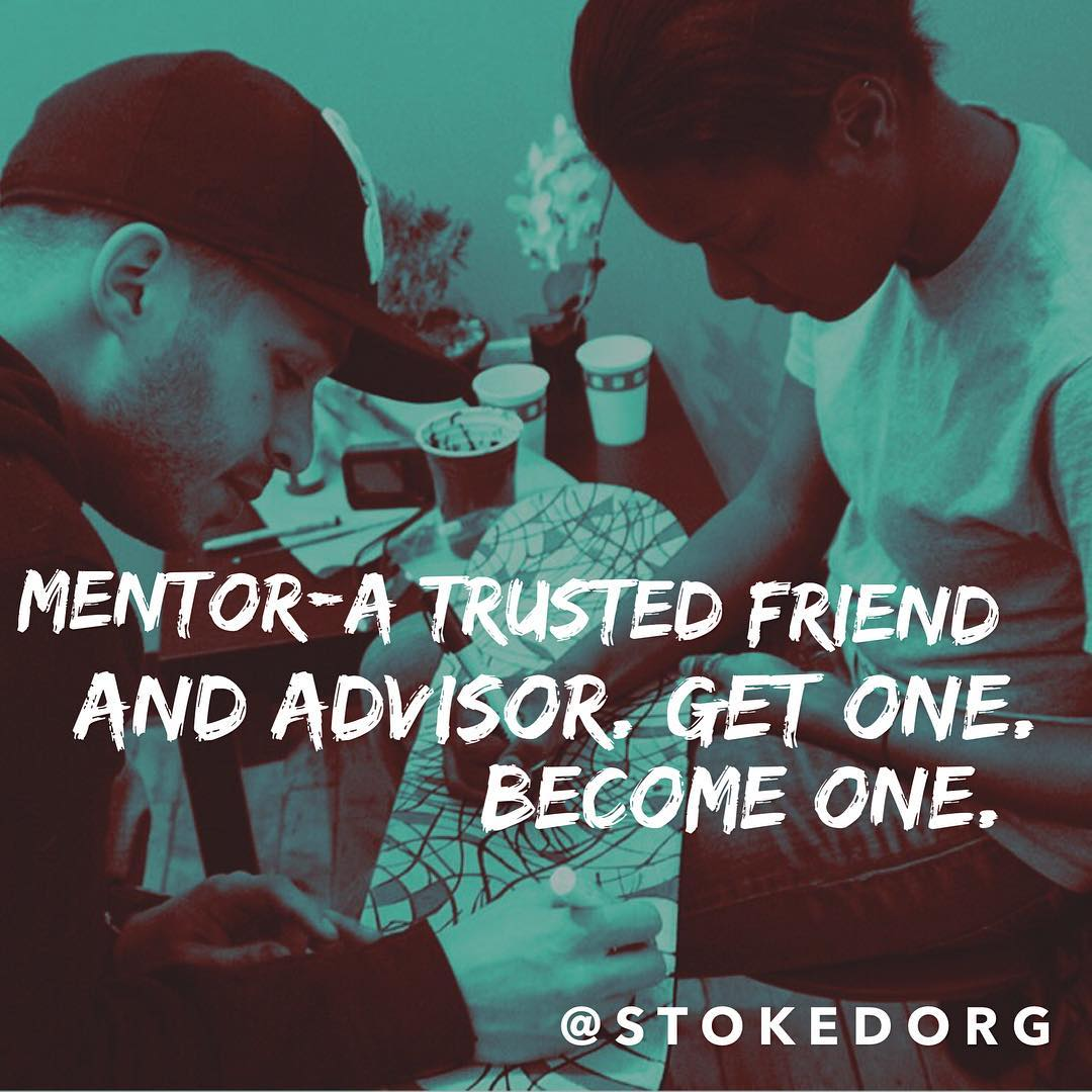 Wait you still aren't in a mentoring relationship? It's the most selfish and Selfless thing you could ever do. It literally changes lives both yours and theirs. Think about it...tag someone you consider a mentor!