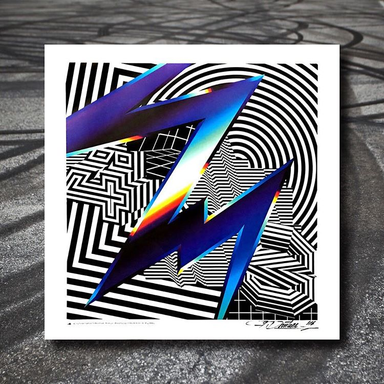 LIMITED PRINTS! @felipepantone printed these up and shipped them over to us. So we're giving our Loyalty Squad first dibs on this SIGNED Hoonigan Racing by Felipe Pantone artwork. Available at 12am PST. #getyourclickersready  _______ Not a part of the...