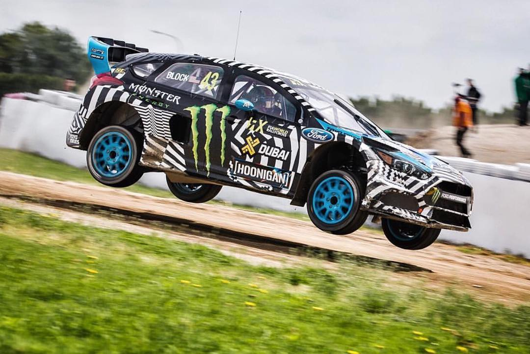 Who's watching @fiaworldrx round 3 in Belgium? HHIC @kblock43 putting that suspension travel to use! #WorldRX