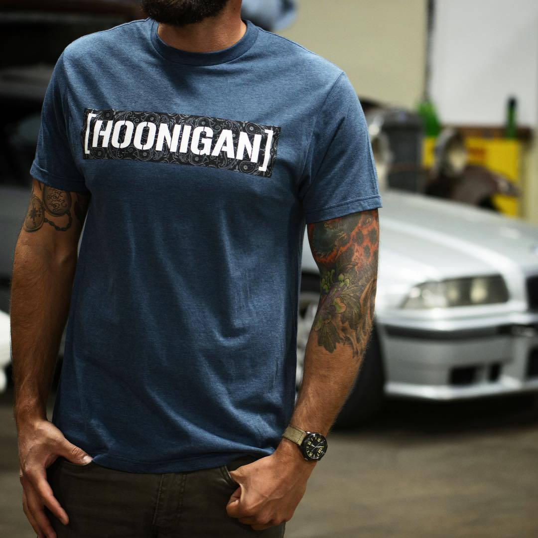 The newest addition to our Censor Bar line up is the Bandana Fill tee. It's available now on #hooniganDOTcom. #thate36tho