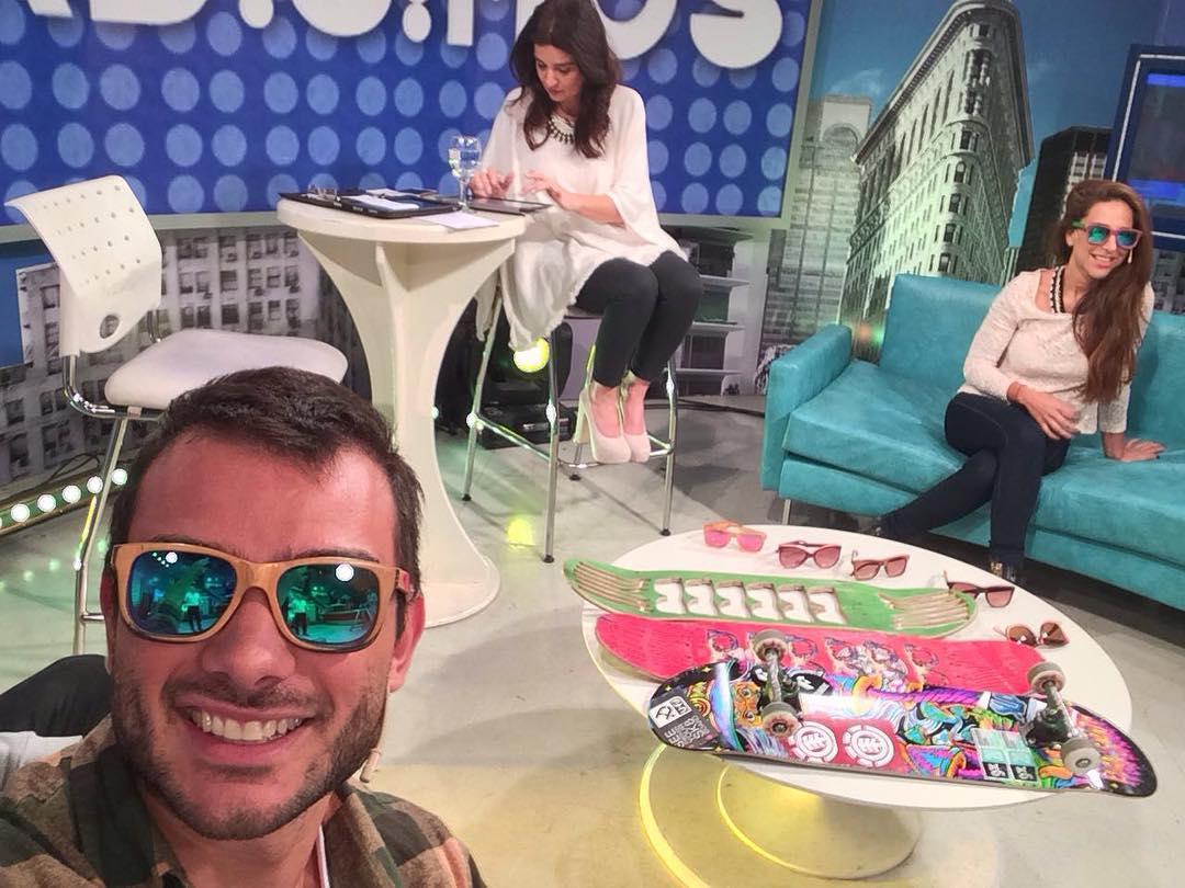 En vivo en #informadisimos por el canal #magazine hablando de nuestras raíces!!