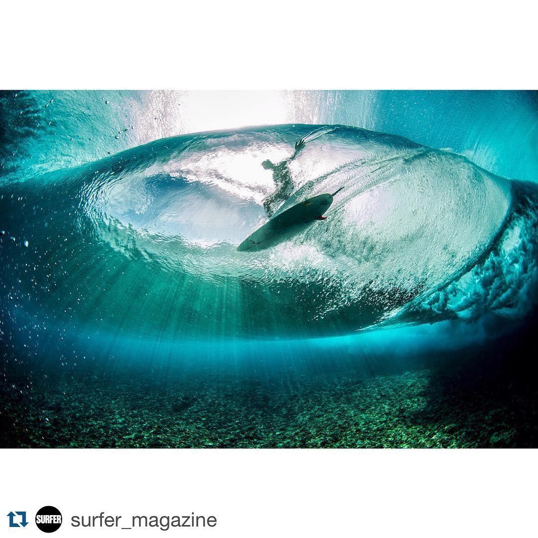 #Repost @surfermagazine #Underwave ✌