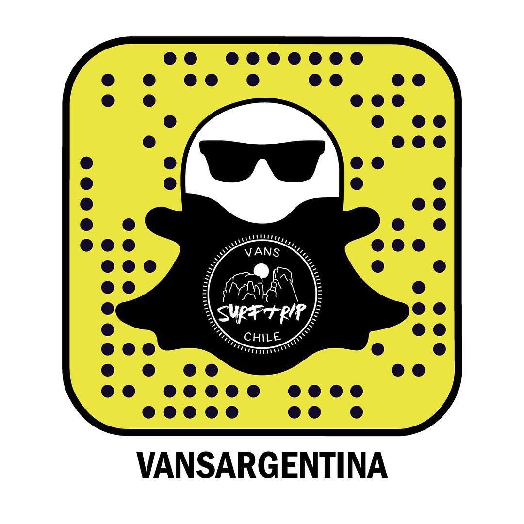 Seguí el #SurfTripChile de @julianiturralde y @nachogundesen vía Snapchat: vansargentina