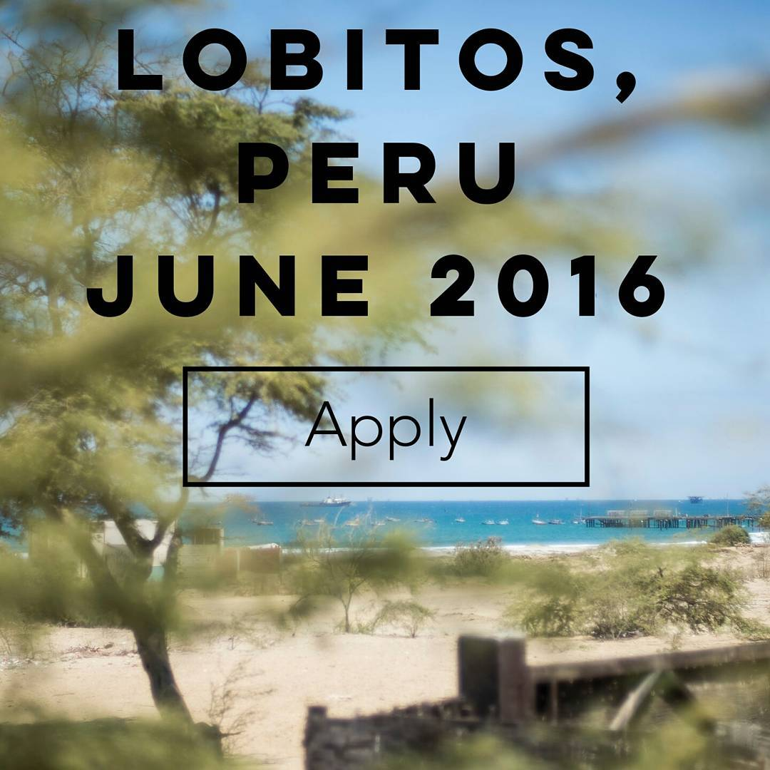 Join us in Peru! We couldn't be more pleased to offer this amazing film / photography opportunity in Lobitos with the #coast2coast project! Check it out: bit.ly/LobitosFilm & in bio