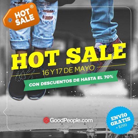 Este lunes y martes 16 y 17 de Mayo aprovecha el Hot Sale en GoodPeople.com con descuentos increibles en todos los productos Wika Sport. Hace click acá http://bit.ly/1ZMXrhQ para comprar.