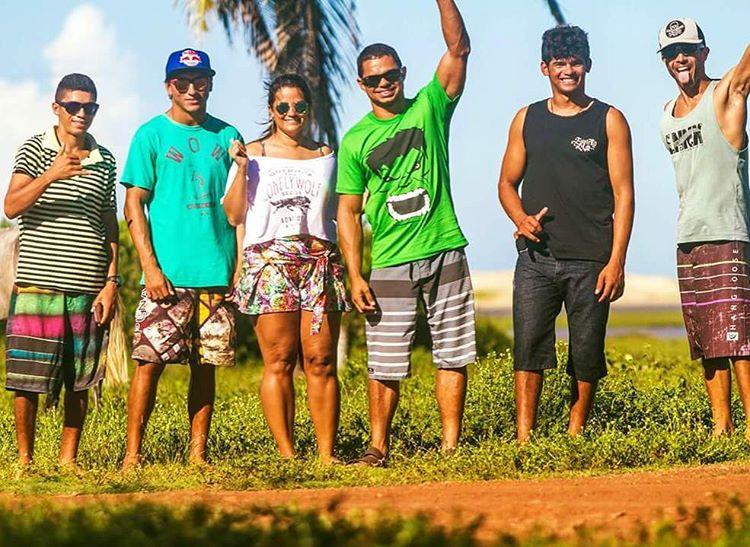 Los conoces ?? Los top 10 kiters de Brasil.  Nuestra remera #arte #fera  #lifeiswow #waterlover #madebrasil  Gracias @roller_and_kiter